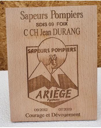 copy of Plaque honorifique...