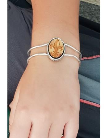 Bracelet fantaisie - Lys O