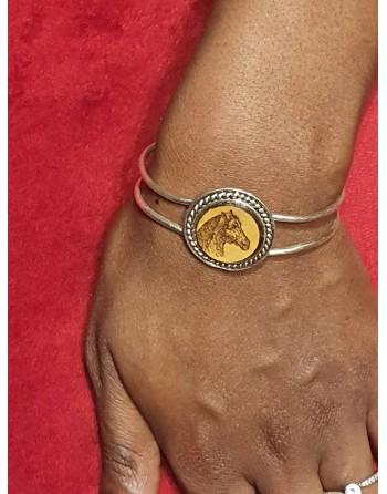 Bracelet fantaisie - Cheval