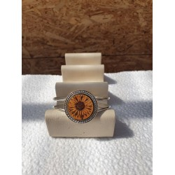 Bracelet fantaisie - Tournesol