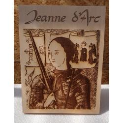 Plaque Jeanne d' Arc